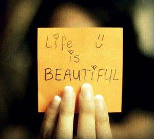 het leven is mooi