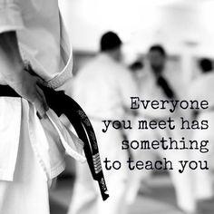 iedereen die je tegenkomt heeft je iets te leren