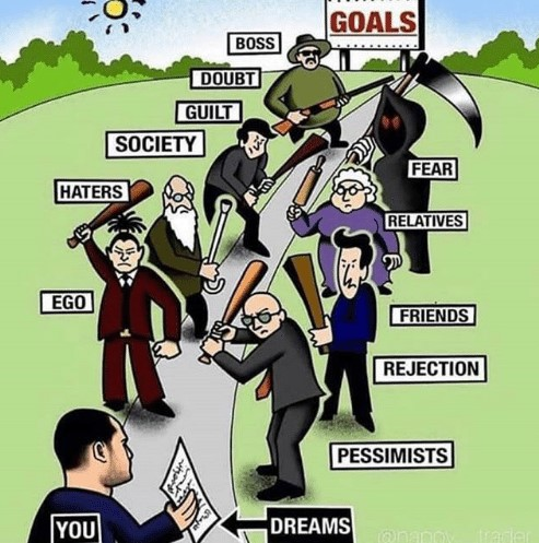 goals-boss-doubt-guilt-society-fear-haters-relatives-ego-friends-58022669